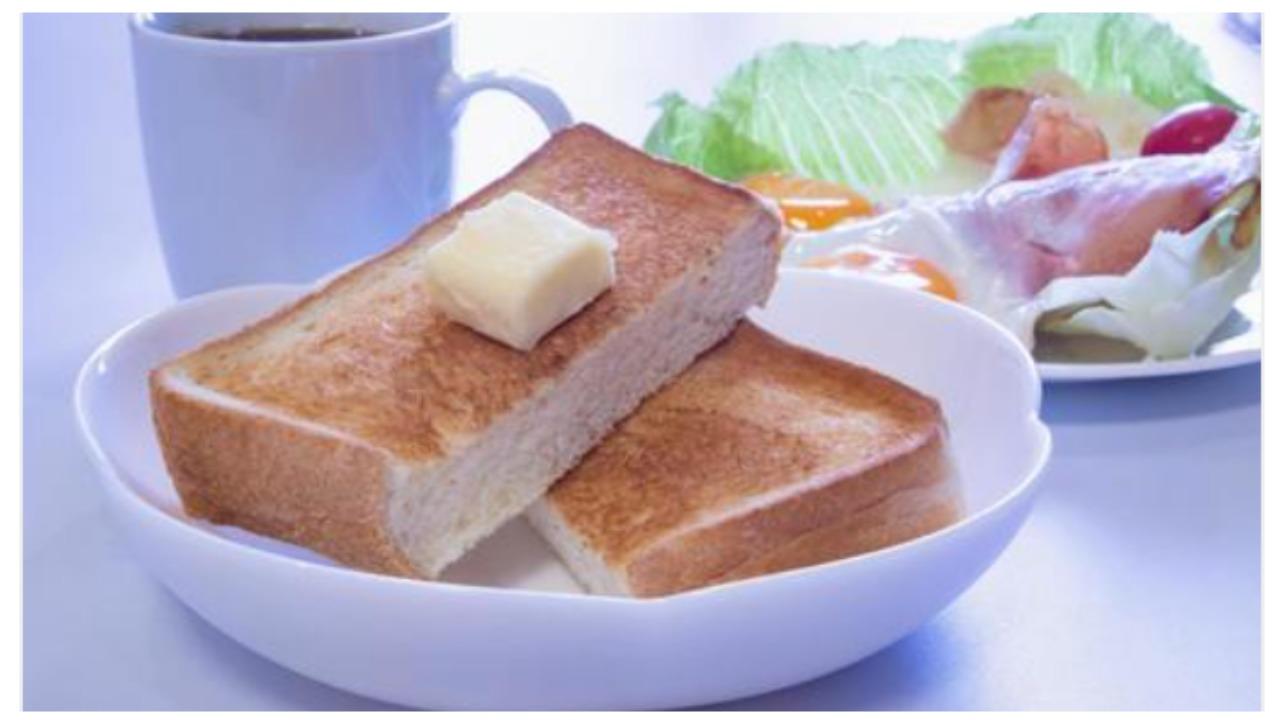 ダイエット 朝食 パン 米